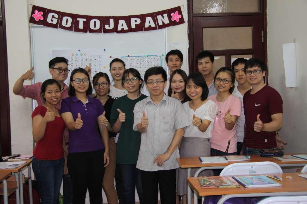 khai giảng lớp tiếng Nhật