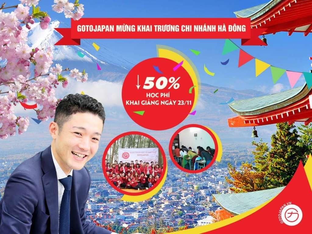 Giảm 50% học phí mừng khai trương chi nhánh Văn Quán