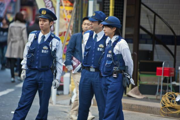 police in Japan