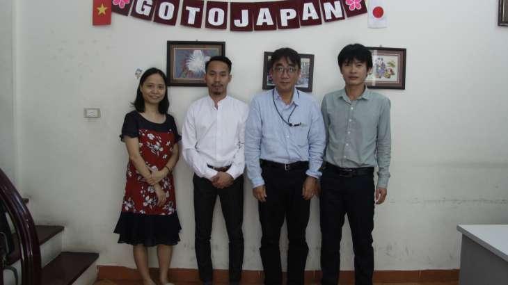 Ảnh: Đại diện trường Nhật ngữ Waseda và trung tâm GotoJapan