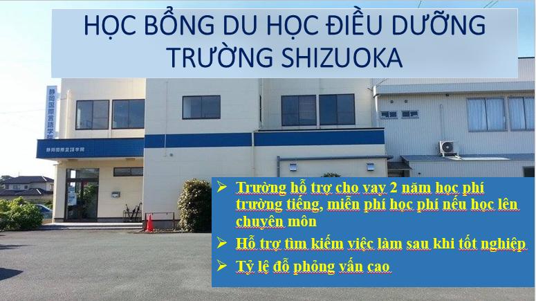 Chương trình Điều dưỡng trường Shizuoka