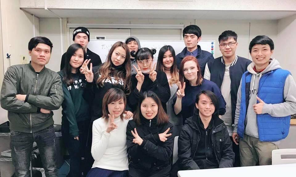 Senpai Ngọc cùng các bạn du học sinh Nhật Bản