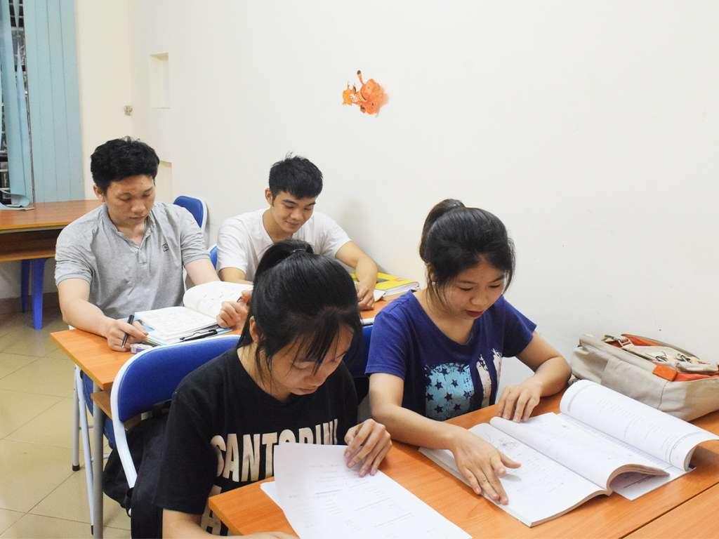 Lớp học tại GoToJapan