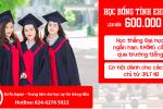 Học bổng học thẳng Đại học ngắn hạn tỉnh Ehime
