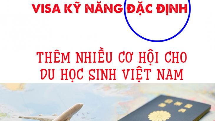 visa kỹ năng đặc định TOKUTEI GINOU