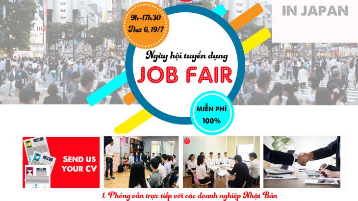 Ngày hội tuyển dụng Nhật Bản