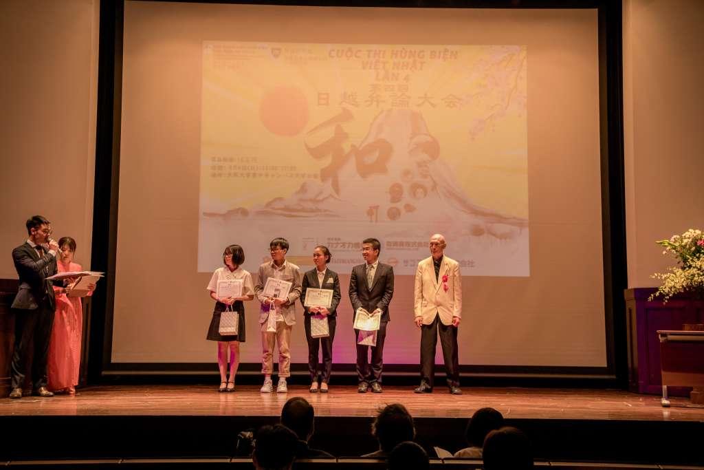 Học viên GoToJapan giật giải nhì trong cuộc thi hùng biện tiếng Nhật